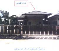 บ้านเดี่ยวหลุดจำนอง ธ.ธนาคารกรุงไทย สงขลา หาดใหญ่ ทุ่งตำเสา
