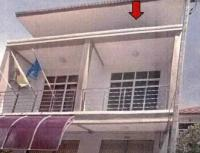 บ้านแฝดหลุดจำนอง ธ.ธนาคารอาคารสงเคราะห์ สงขลา จะนะ บ้านนา